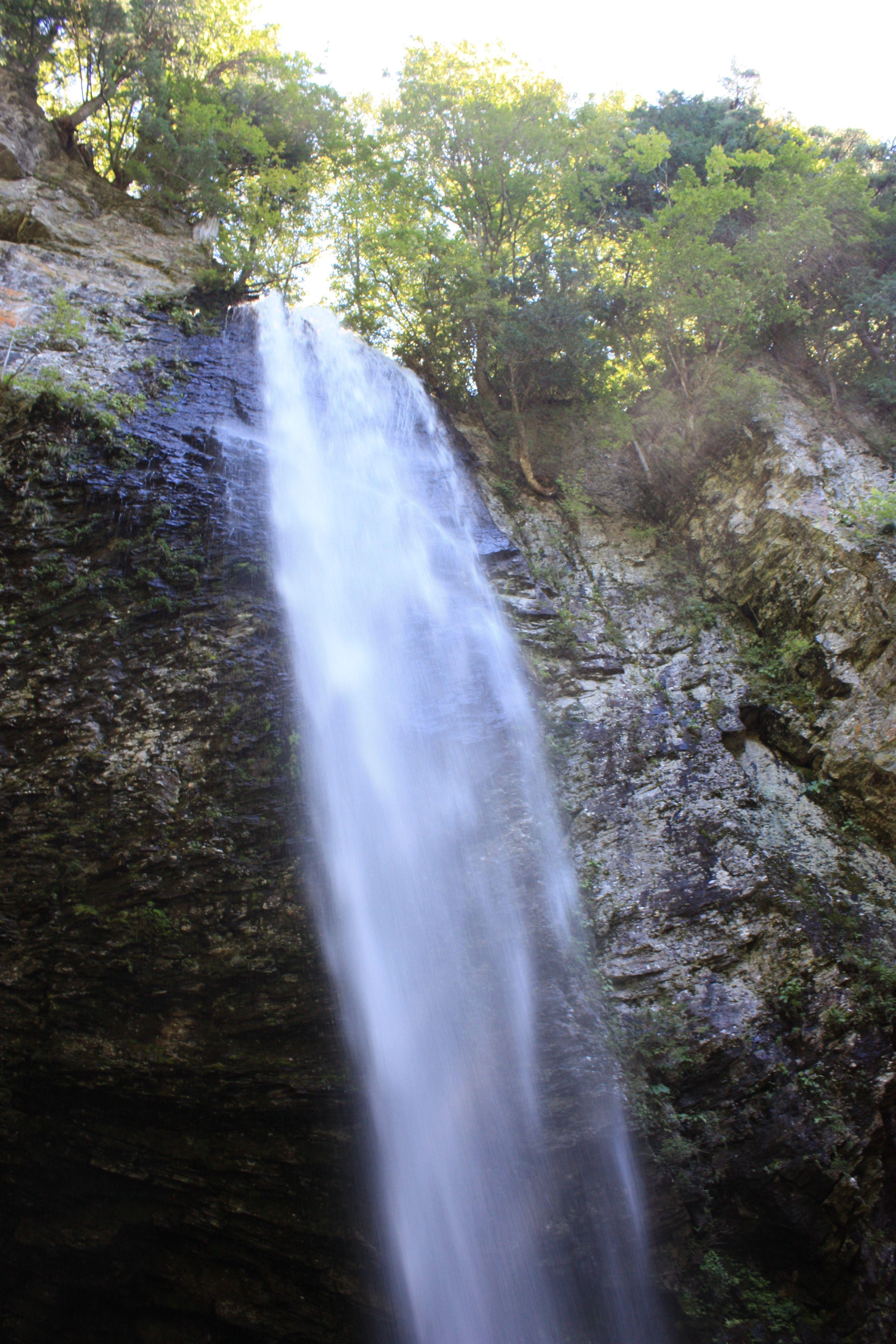 新滝の上部