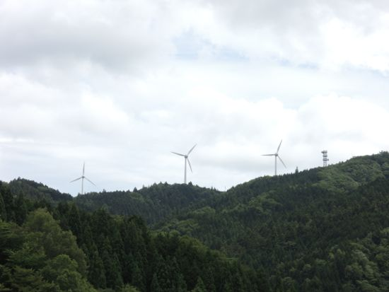 面ノ木風力発電所