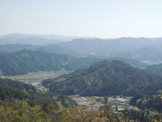 大阪峠あたり