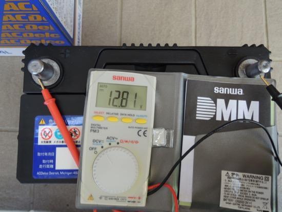 AC DELCO SMF55B24L 電圧